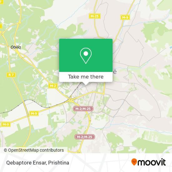 Qebaptore Ensar map