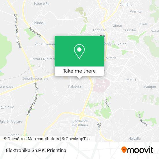 Elektro Projekt map