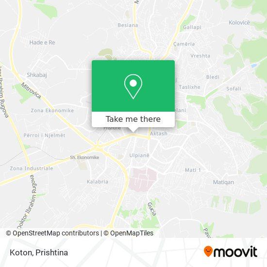 Koton map