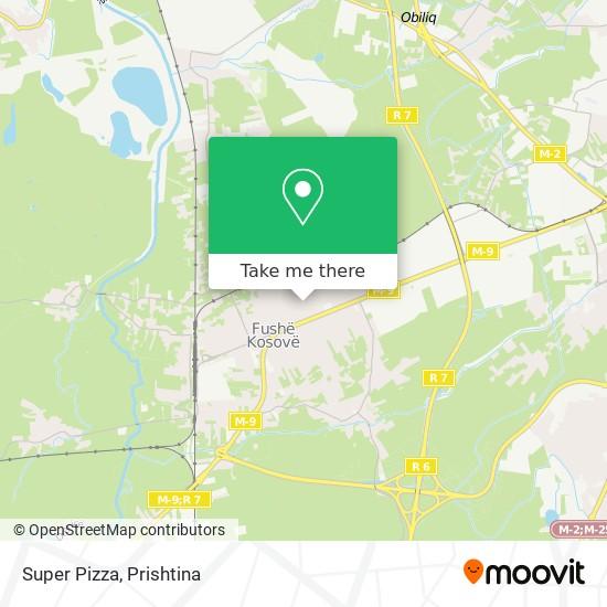 Super Pizza map