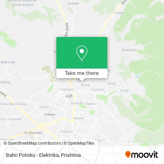 Bahri Potoku - Elektrika map