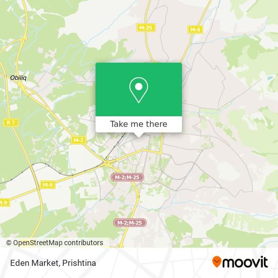 Eden Market map