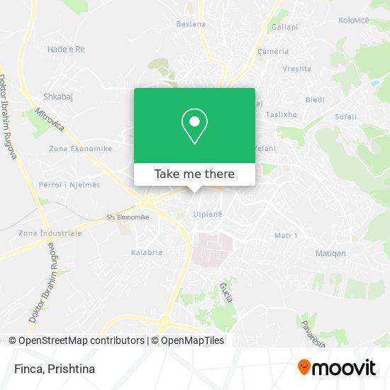Finca map