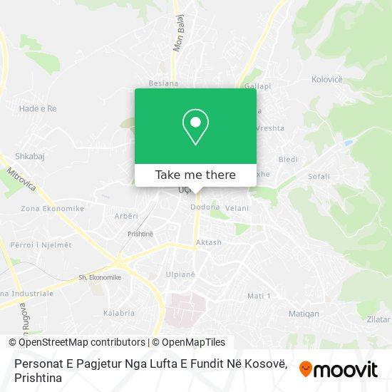 Personat E Pagjetur map