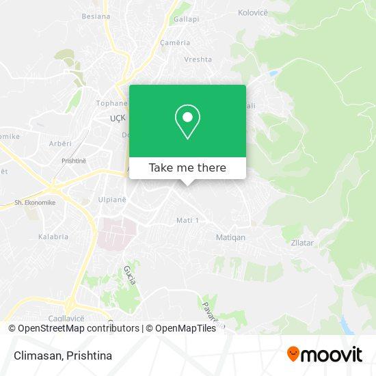 Climasan map