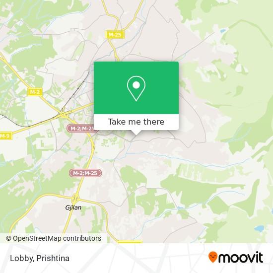 Lobby map