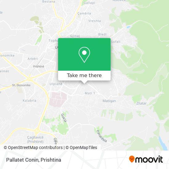 Pallatet Conin map
