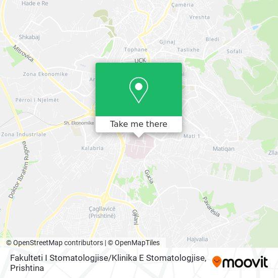 Fakulteti I Stomatologjise / Klinika E Stomatologjise map