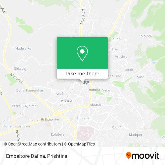 Embeltore Dafina map