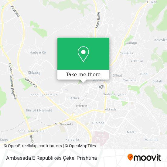 Ambasada E Republikës Çeke map