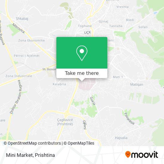 Mini Market map