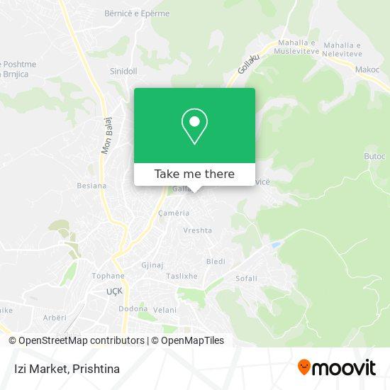 Izi Market map