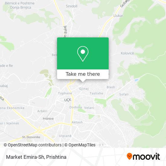 Market Emira-Sh map