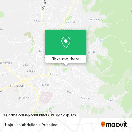 Hajrullah Abdullahu map