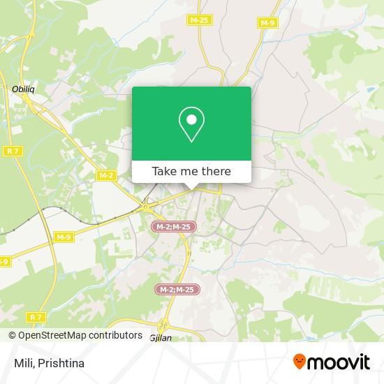 Mili map