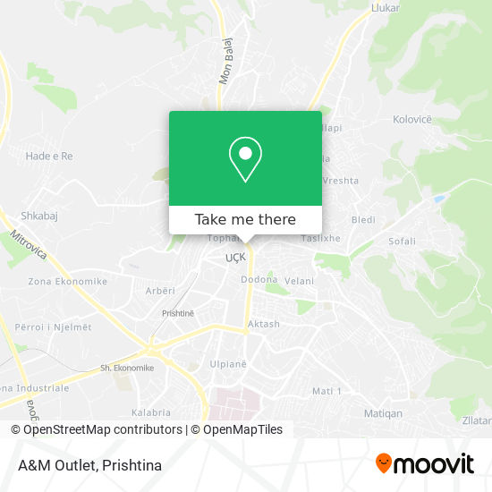 A&M Outlet map