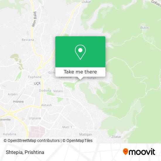 Shtepia map