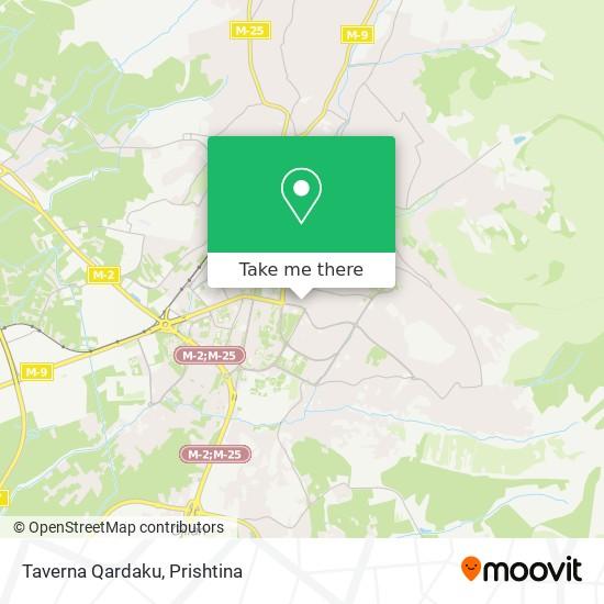 Taverna Qardaku map