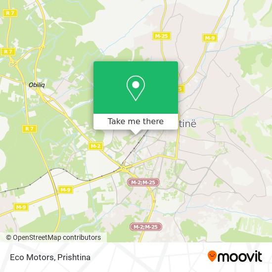 Eco Motors map