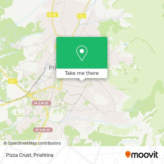 Pizza Crust map