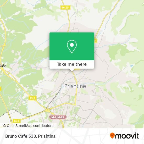 Bruno Cafe 533 map