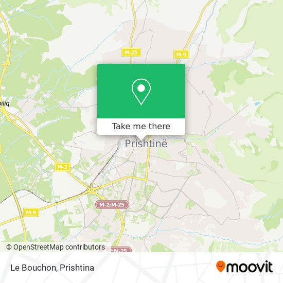 Le Bouchon map