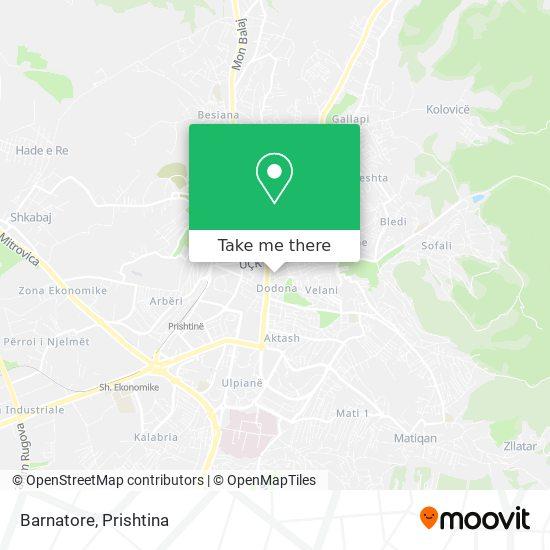 Barnatore map