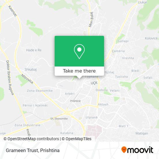 Grameen Trust map