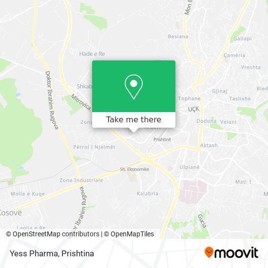 Yess Pharma map