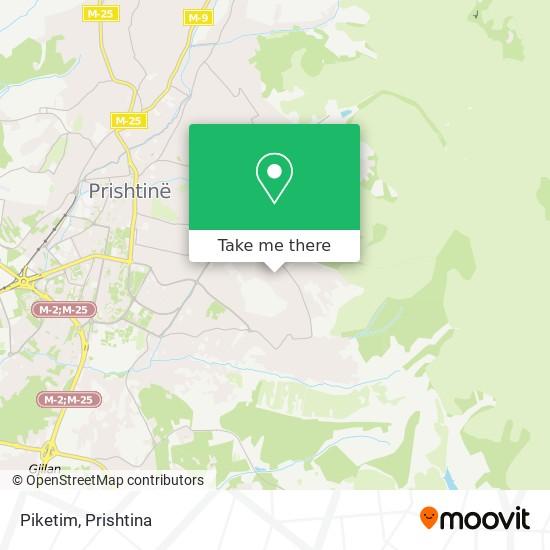 Piketim map