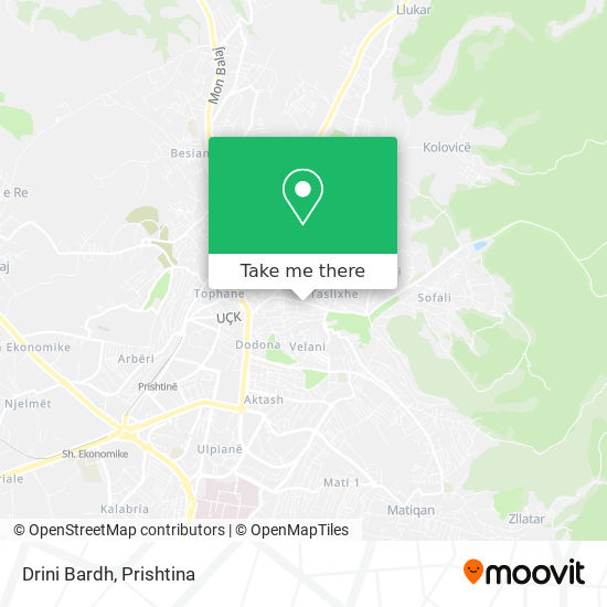 Drini Bardh map