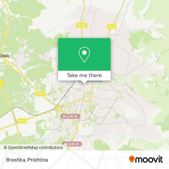 Breshka map