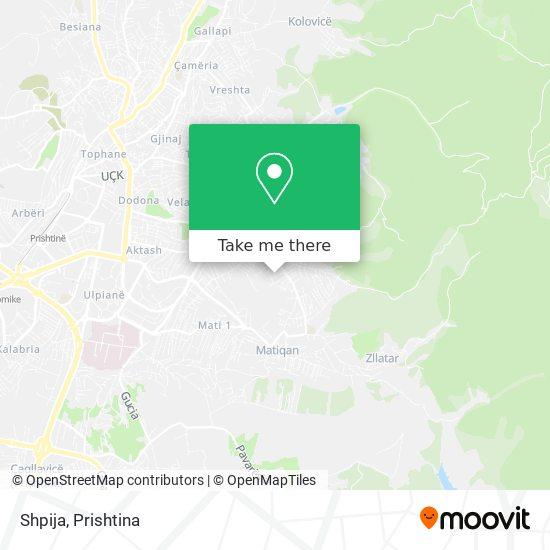 Shpija map