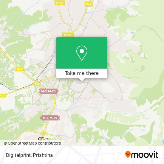 Digitalprint map