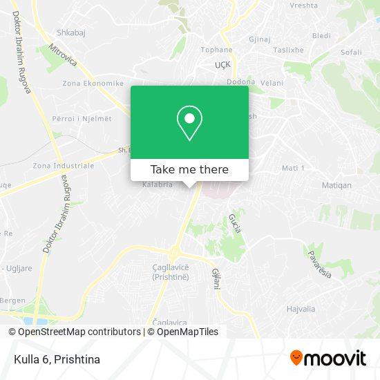 Kulla 6 map