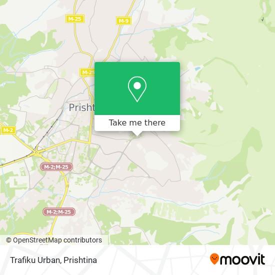 Trafiku Urban map