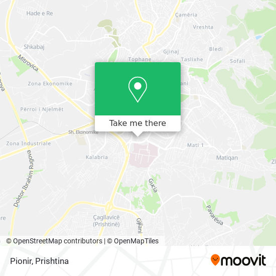 Pionir map