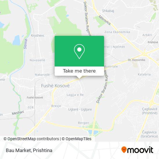 Bau Market map