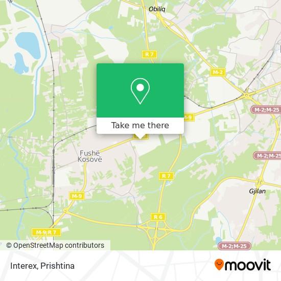 Interex map