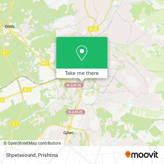 Shpetasound map
