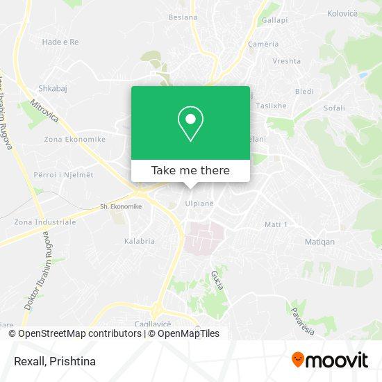 Rexall map