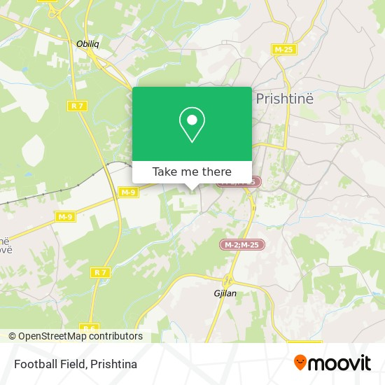 Football Field map