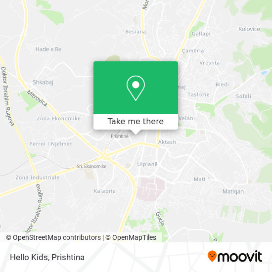 Hello Kids map