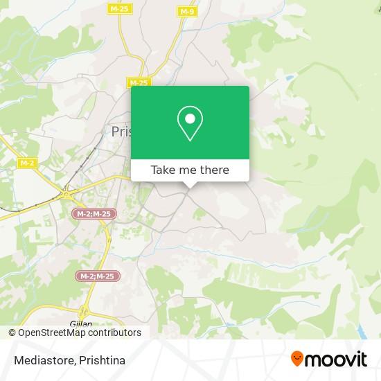 Mediastore map