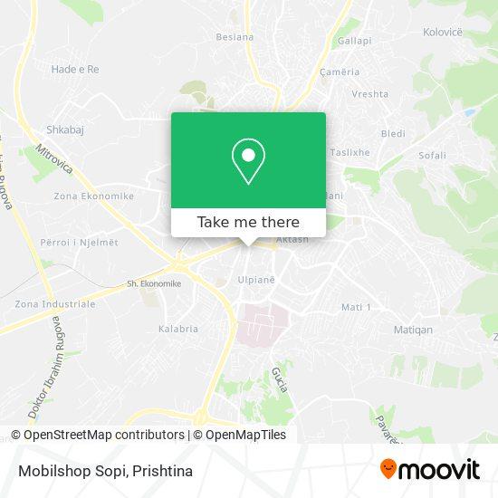Mobilshop Sopi map