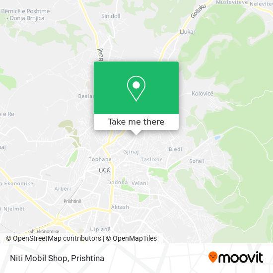 Niti Mobil Shop map