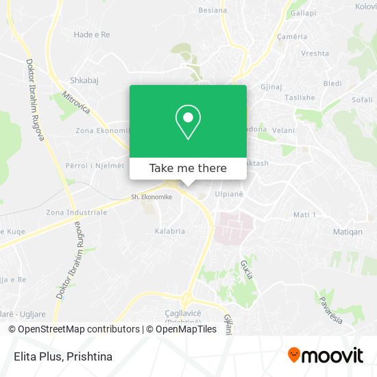 Elita Plus map
