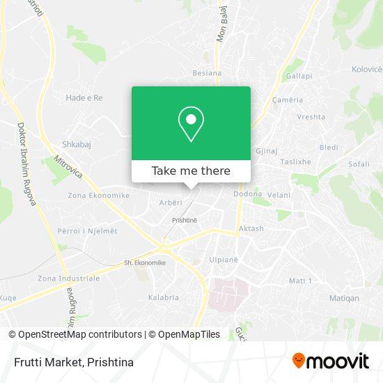 Frutti Market map