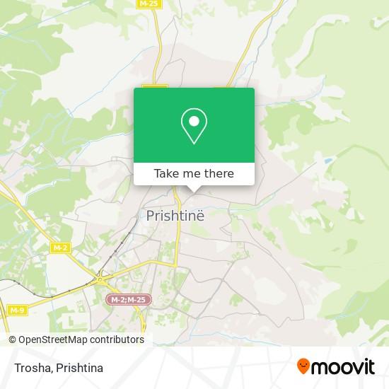 Trosha map