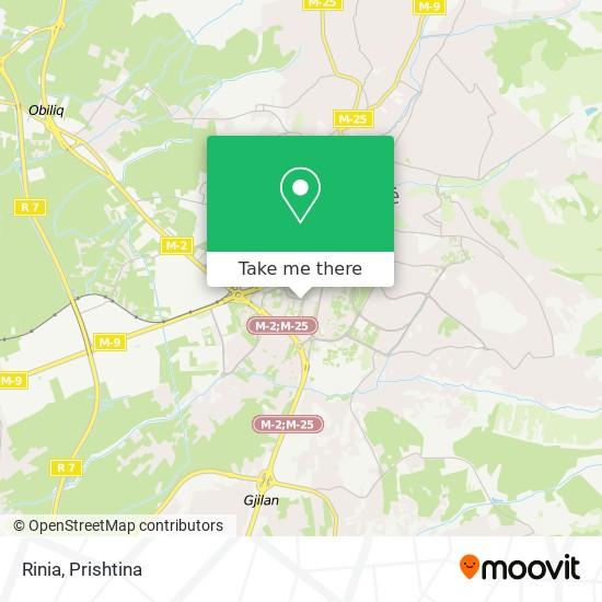 Rinia map